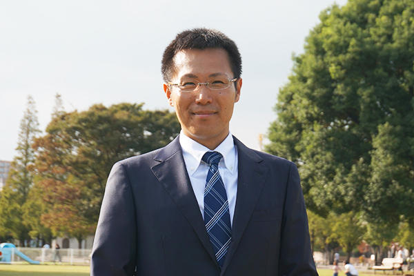 Ryoji Ohashi of the Solution Business Development Department, OMRON SOCIAL SO-LUTIONS Co.,Ltd.